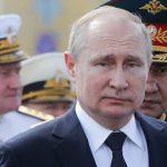 «Главное — выучка»: Путин принимает парад ВМФ. LIVE