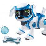 Забавная интерактивная игрушка собака-робот порадует всю семью