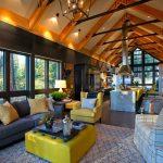 В чём особенности планировки и дизайна интерьера загородного дома?