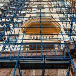 Металлические леса – достижение в строительной сфере