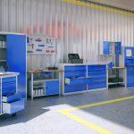 Современное производство металлической мебели
